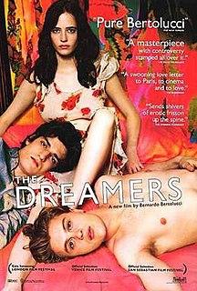 <i>The Dreamers</i> (film) 2003 film by Bernardo Bertolucci