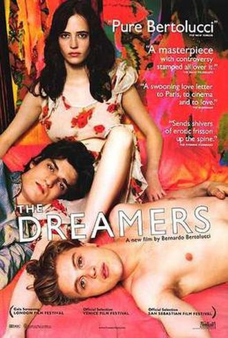 The Dreamers (film) - Theatrical release poster