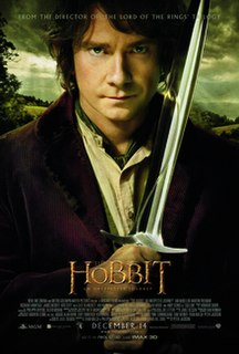 <i>The Hobbit: An Unexpected Journey</i> 2012 film directed by Peter Jackson