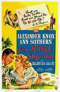 <i>The Judge Steps Out</i> 1949 film by Boris Ingster