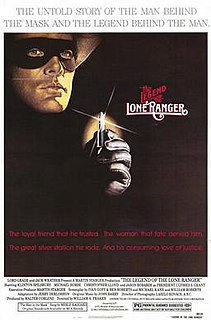 <i>The Legend of the Lone Ranger</i> 1981 film by William A. Fraker