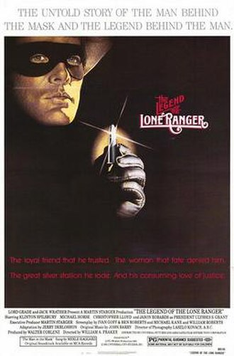 The Legend of the Lone Ranger - Theatrical release poster