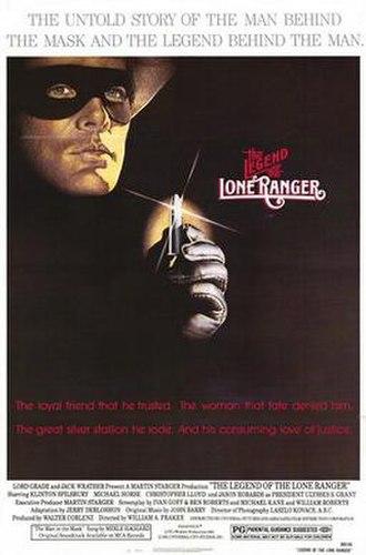 Lone Ranger - 1981 film, The Legend of the Lone Ranger