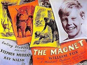 The Magnet (film) - Original UK quad format film poster