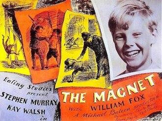 The Magnet (film) - Original UK quad format film poster