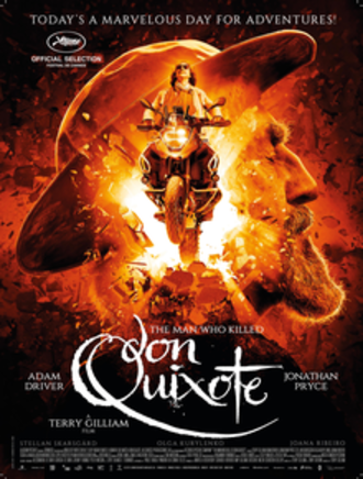 The Man Who Killed Don Quixote - Theatrical release poster