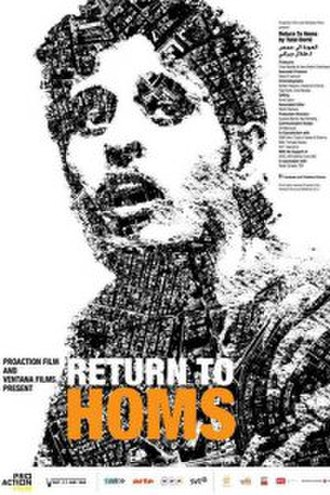 The Return to Homs - Promotional poster