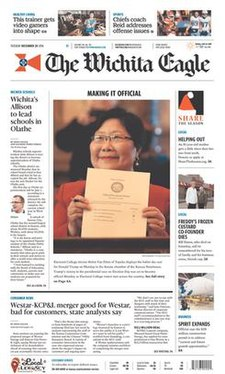 The Wichita Eagle front page.jpg