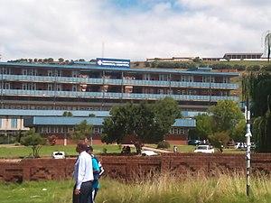 Phuthaditjhaba - View of the Mofumahadi Manapo Mopeli Hospital