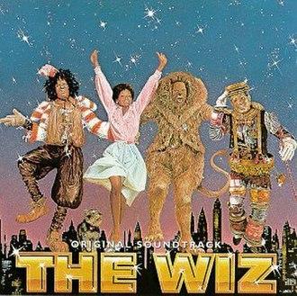 The Wiz (film) - Cover of The Wiz original soundtrack.