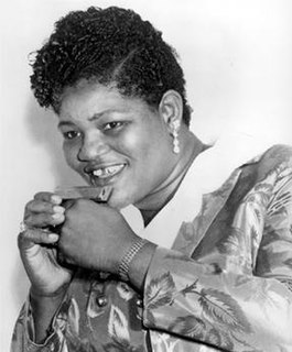 Big Mama Thornton American rhythm and blues singer and songwriter