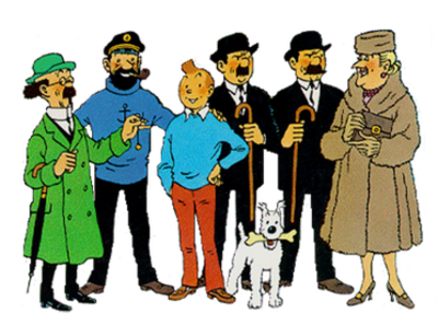 Picture of a book: Tintin