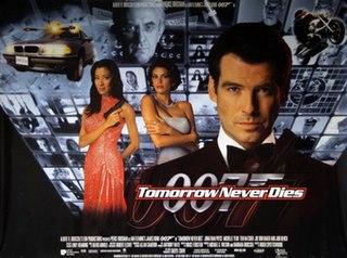 <i>Tomorrow Never Dies</i> 1997 James Bond film directed by Roger Spottiswoode