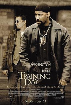 Training Day - Theatrical release poster