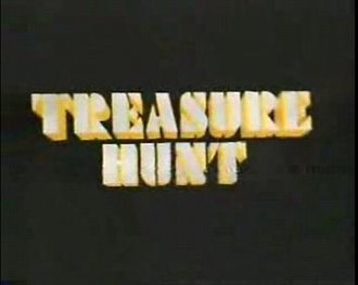 Treasure Hunt (UK game show) - Title logo from Series 4 (1986).