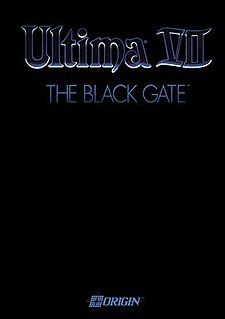 <i>Ultima VII: The Black Gate</i> 1992 video game