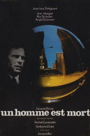 The Outside Man - French film poster for The Outside Man
