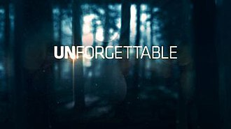 Unforgettable (U.S. TV series) - Image: Unforgettable promo logo