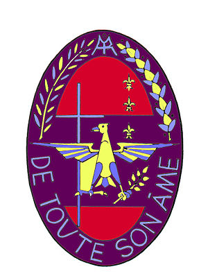 "Villa St. Jean International School - Villa St Jean's coat of arms and motto, ""de toute Son Âme""."