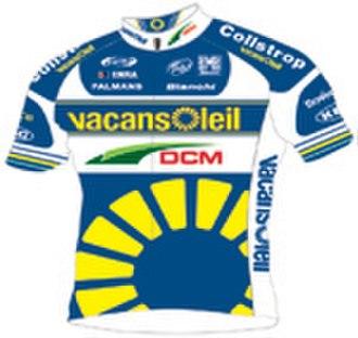 Vacansoleil–DCM - Image: Vacansoleil DCM jersey