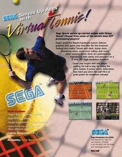 <i>Virtua Tennis</i> (video game) 1999 sports video game