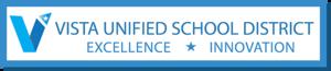 Vista Unified School District - Image: Vista Unified School District CA Logo, 2013