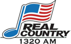 """WCVR - Logo from 2010 to 2017, as """"Real Country 1320"""""""