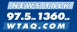 WTAQ - former logo
