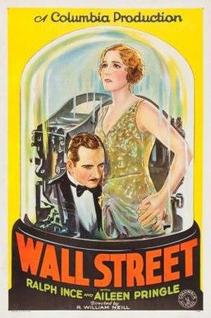 Wall Street (1929 film) - Image: Wall Street Film Poster
