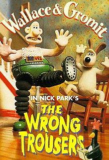 1993 stop motion animated short film directed by Nick Park
