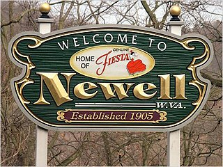 Newell, West Virginia Census-designated place in West Virginia, United States