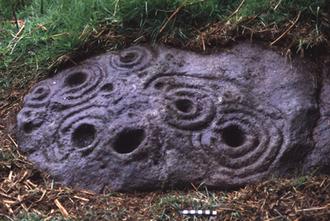 History of Northumberland - Rock art near West Horton