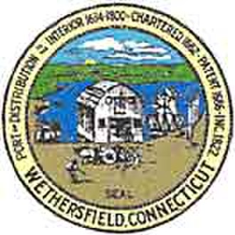 Wethersfield, Connecticut - Image: Wethersfield C Tseal