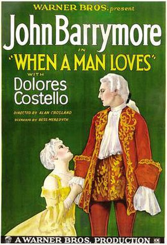 When a Man Loves - theatrical release poster