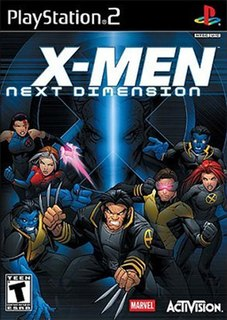 <i>X-Men: Next Dimension</i> 2002 video game