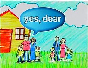 Yes, Dear - Image: Yes dear intertitle