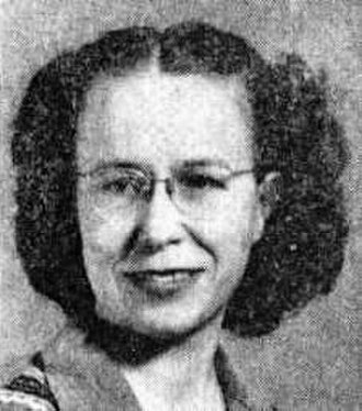 Zenna Henderson - Zenna Henderson c.1953