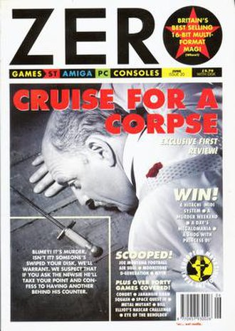Zero (video game magazine) - Image: Zero magazine cover
