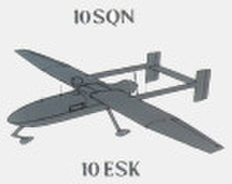 Denel Dynamics Seeker - The insignia of 10 Squadron SAAF depicting the UAV, which it used in the waning days of the South African Border War