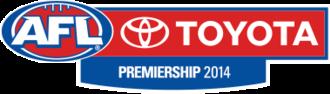 2014 AFL season - Image: 2014 AFL season logo