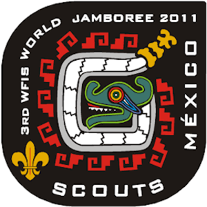 World Federation of Independent Scouts World Jamboree - Badge 3rd WFIS World Jamboree 2011
