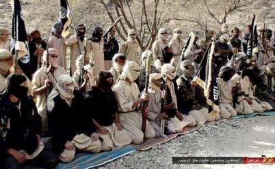 AQAP fighters, Yemen, 2014
