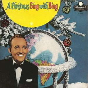 A Christmas Sing with Bing Around the World - Image: A Christmas Sing with Bing (album cover)