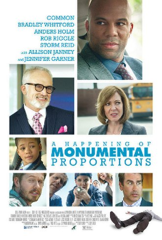 A Happening of Monumental Proportions - Image: A Happening of Monumental Propotions poster