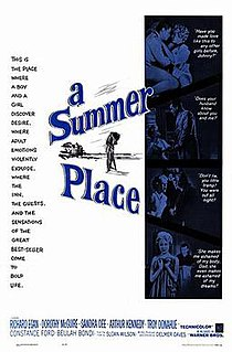 <i>A Summer Place</i> (film) 1959 film by Delmer Daves