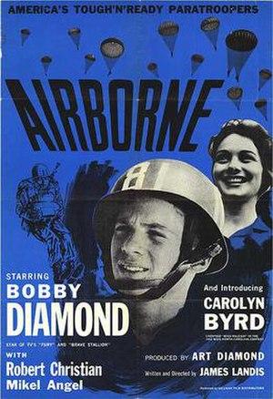Airborne (1962 film) - Original film poster