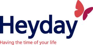 Age Concern - The Heyday logo