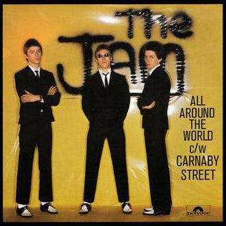 All Around the World (The Jam song) - Image: All Around the World (The Jam song)