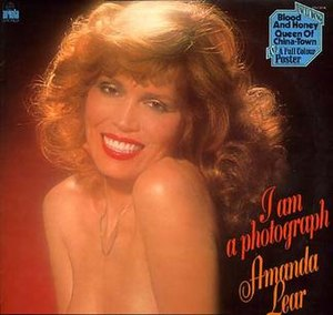 I Am a Photograph - Image: Amanda Lear I Am A Photograph