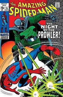 Prowler (Marvel Comics) Marvel comics character